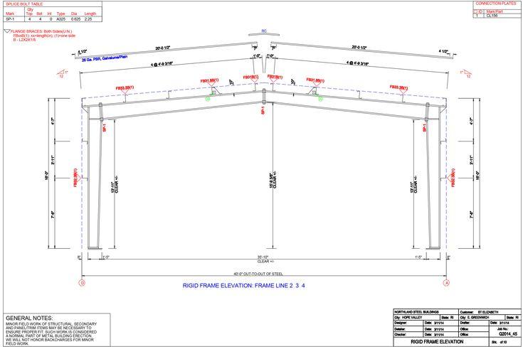 Image result for pre engineered metal building soffit cad details