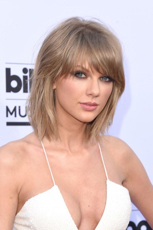 O loiro escuro acinzentado de Taylor Swift