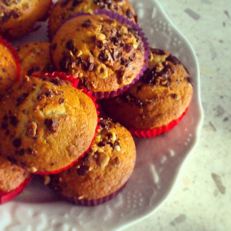 Muffin banana e Nutella