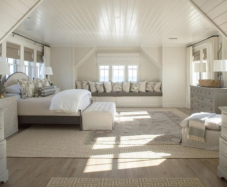 coastal attic room with a view