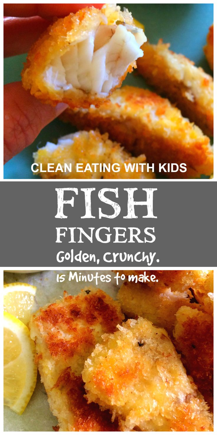 Clean eating Fish Fingers, Doesn't get better than this. So quick to make. You'll never buy the boxed ones again. XX Carey Clean Eating with Kids