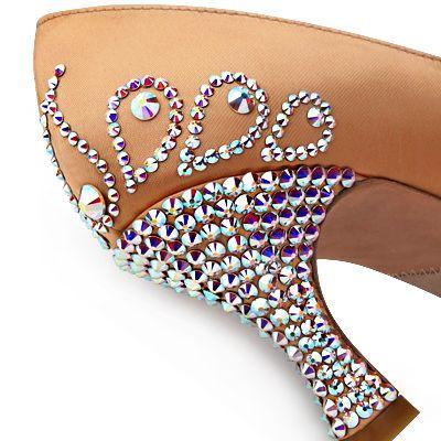 BeSparkle Crystallized Design PT523 | Dancesport Fashion @ DanceShopper.com