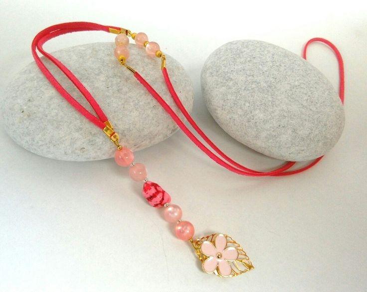 Long suede necklace. https://m.facebook.com/ElitasBijoux?ref=hl&__nodl