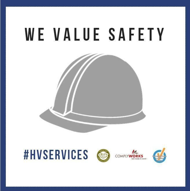We are dedicated to the safety and well being of our employees by providing the necessary training to do the job in a safe and professional manner. We are continually developing and improving our safety program to achieve our goal of exceptional customer service.
