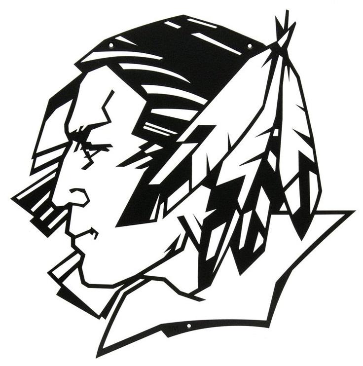 University of North Dakota Fighting Sioux wall art, $85