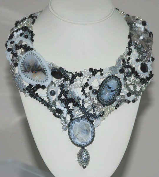 Amazing beaded jewelry by Natalia Pechenkina | Beads Magic