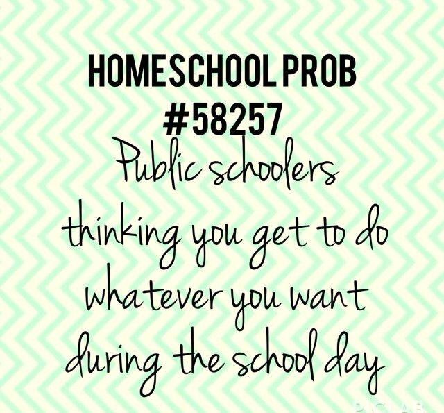 Homeschool problems