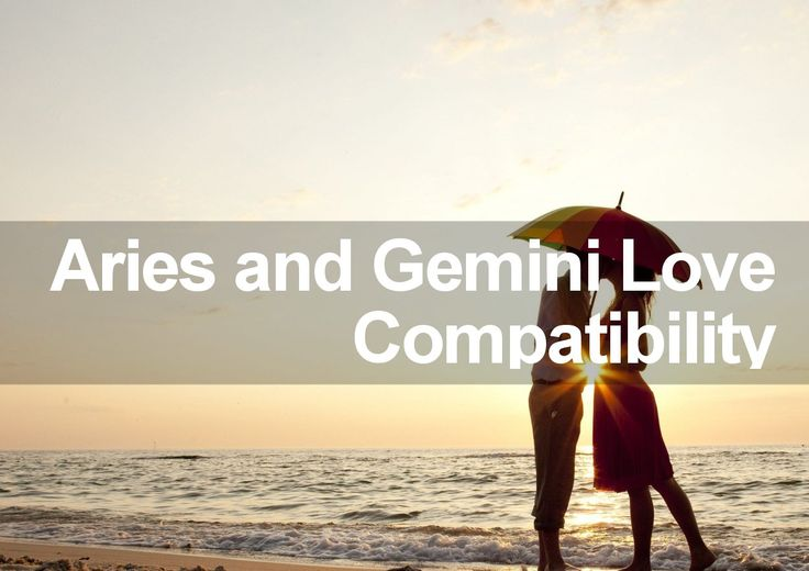 Aries and gemini dating