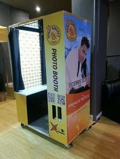We offer a real traditional style photo booth with a modern program. Our photo booth use to be setup in the mall. We have designed it so it can come apart and can be setup anywhere. So we have the only full sized traditional photo booth that we can take upstairs, go in elevators, and go through single doors.