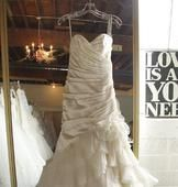 Reduce, reuse, recycle! Buy a 2nd hand dress in great condition! http://www.preownedweddingdresses.com/