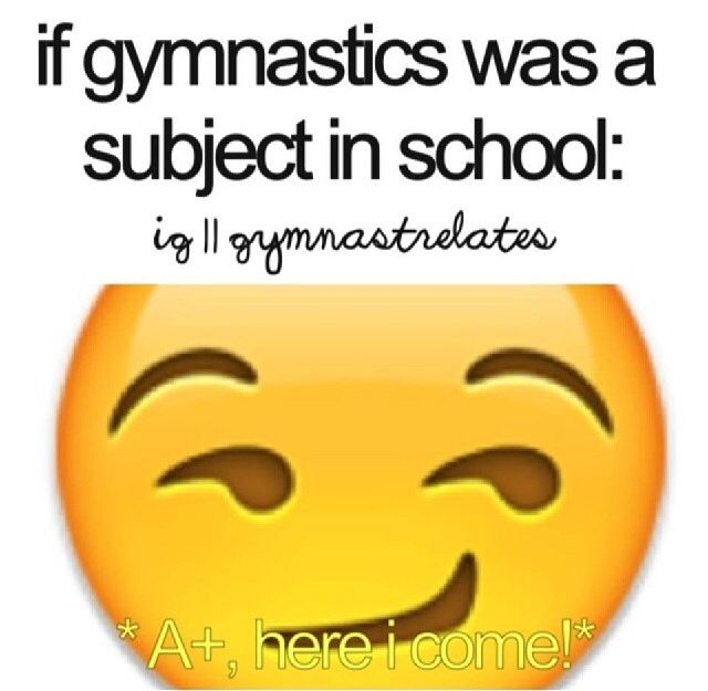 I'm not even a gymnast and I'd still ace it! (I've self-taught myself up to the front handspring)