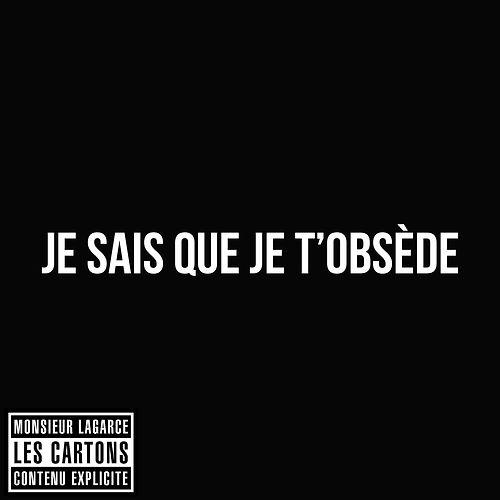 Je sais que je t'obsede. #LesCartons #MonsieurLaGarce