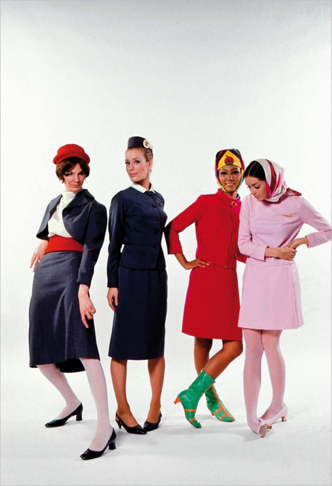 cover letter for flight attendant position%0A Vintage flight attendants in miniskirts