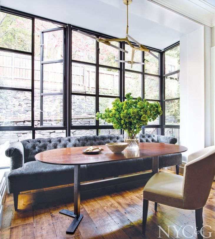 A Mid 1800s Brooklyn Heights Row House Gets