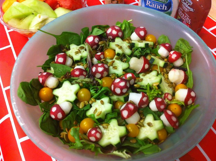 Mario party salad