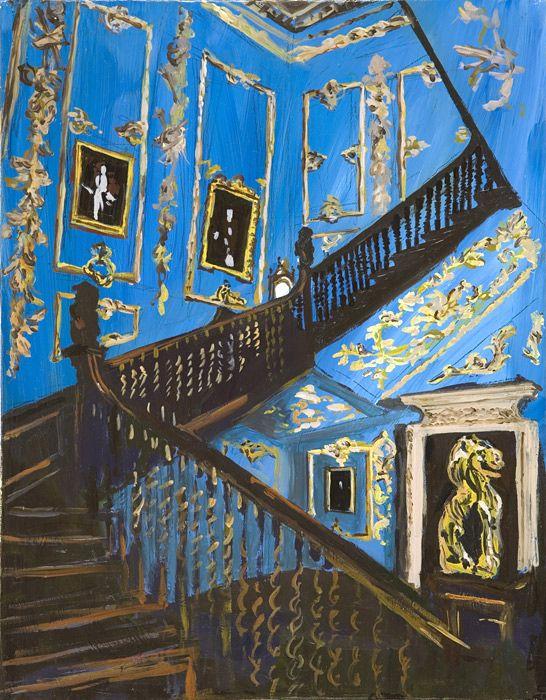 in LOVE with the artwork of contemporary artist Karen Kilimnik
