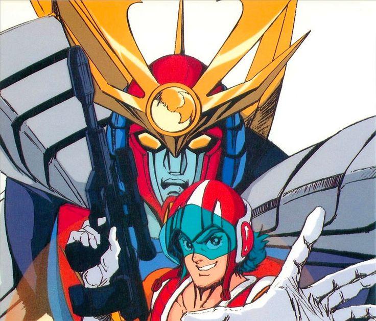 Per la pace del mondo combatterò i Meganoidi con il Daitarn 3! Se non temi questa potenza, combatti! (Haran Banjo)