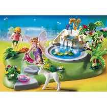 Playmobil 4008 Superset Jardín Con Hadas