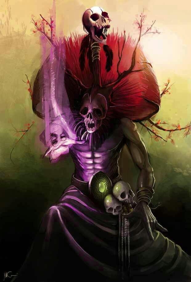 Aztec Priestess