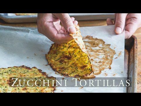 Healthy Zucchini Soft Taco Tortilla Shells from Grated Zucchini