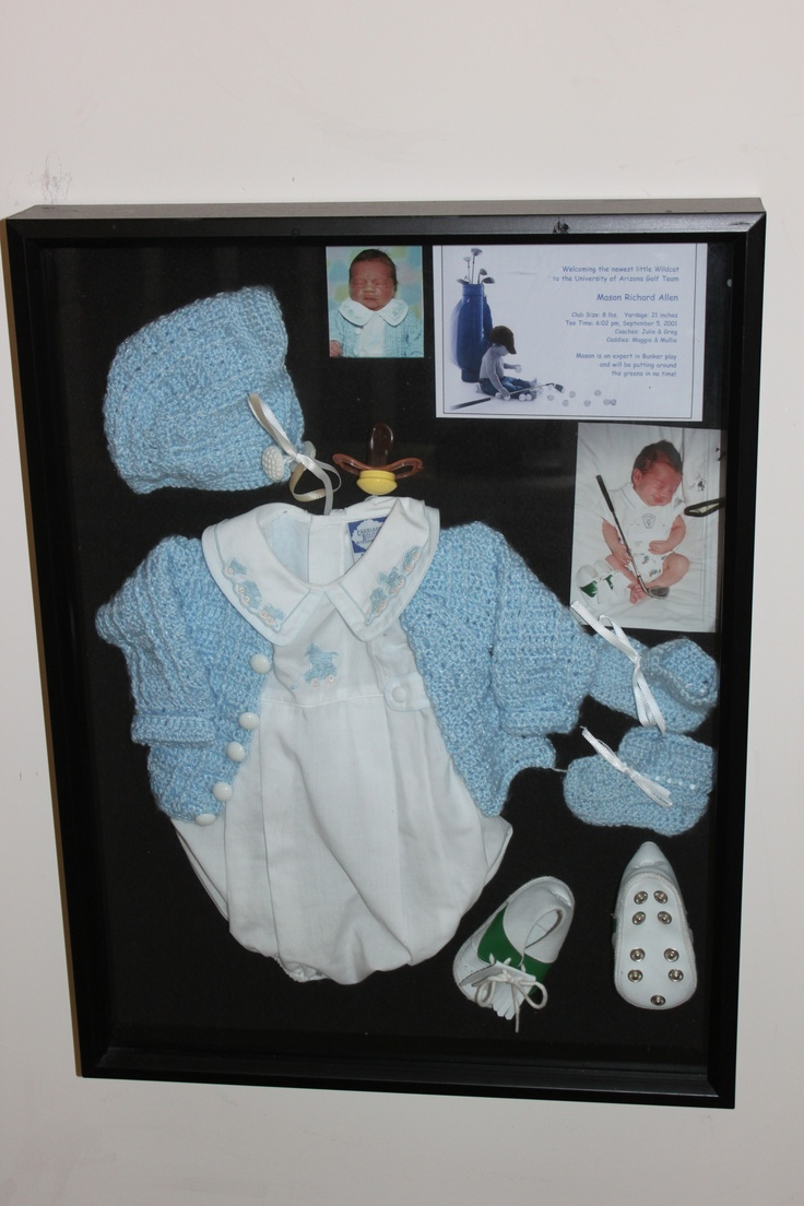 42 Best Images About Baby Shadow Box On Pinterest