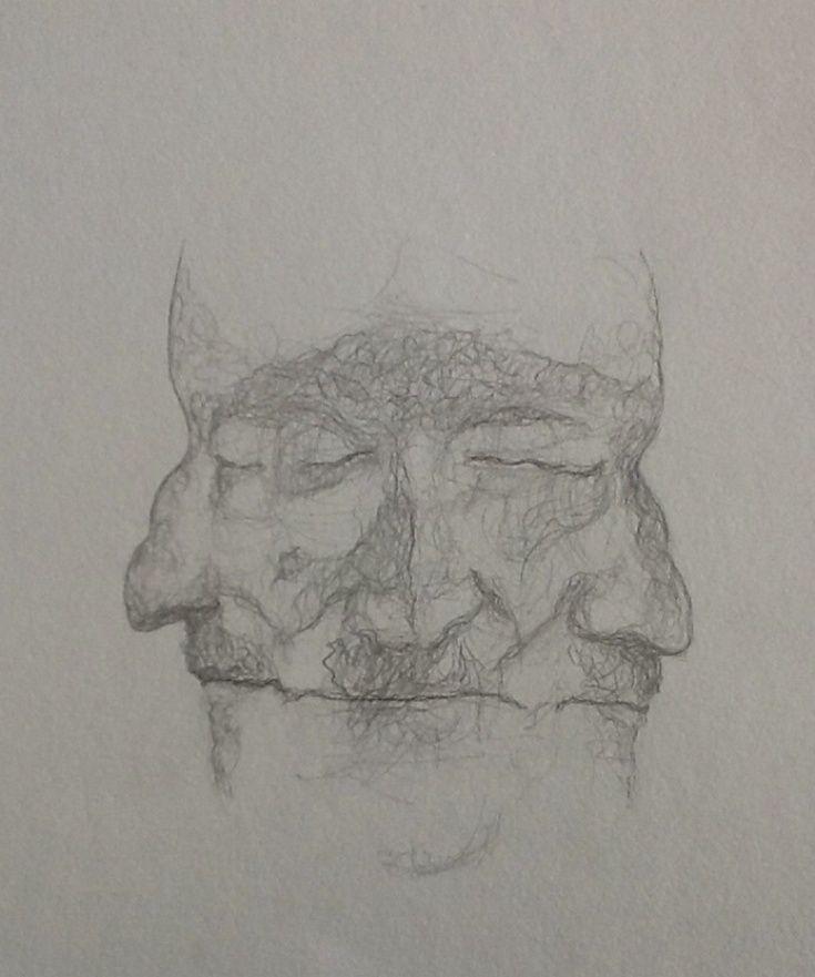 James Joyce Death Mask Copyright©JoeMcgill