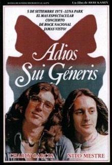 Adiós Sui Generis - Independiente / 3 de Septiembre