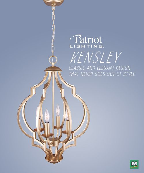 The Patriot Lighting Kensley Chandelier Will Add A Clic