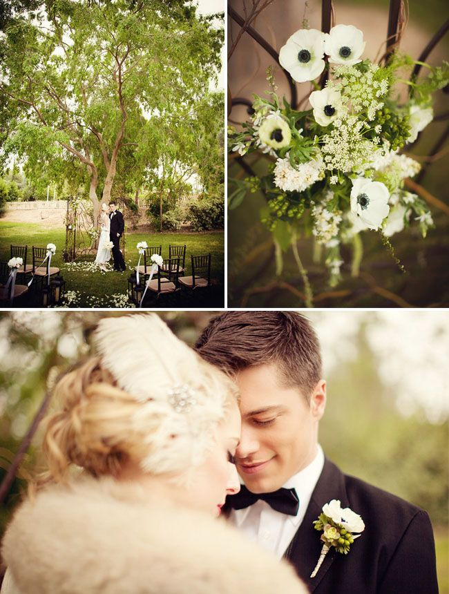 Water for Elephants Movie Wedding Inspiration..gorgeous flowers