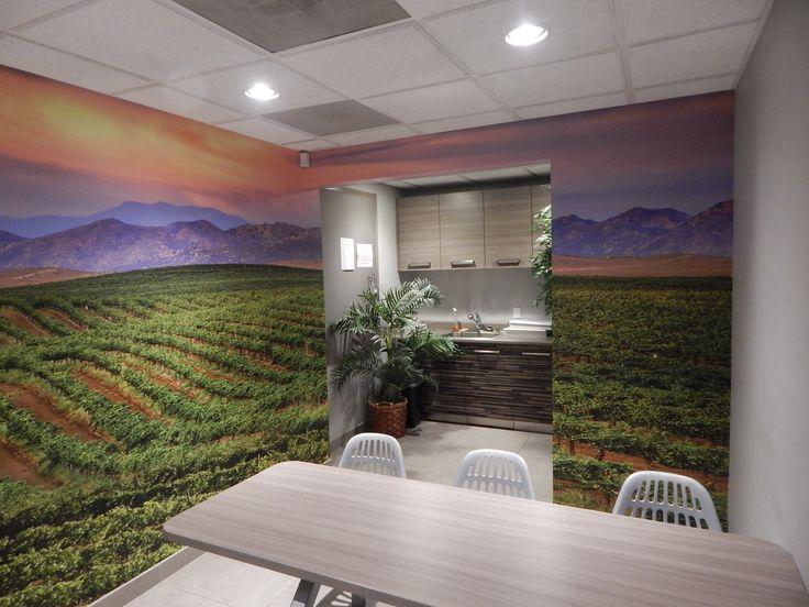 Interior branding: Temecula Valley Toyota located in Temecula, CA. Contact DesertWraps.com at 760-935-3600. #Temecula #InlandEmpire #Dealership #WallWrap #Design #WallDesign #GrapeField