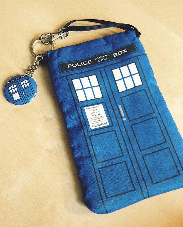 TARDIS Doctor Dr Who Mini Purse Wallet Purselet Electronics Nintendo DS 3DS Case | Clothing, Shoes & Accessories, Unisex Clothing, Shoes & Accs, Unisex Accessories | eBay!
