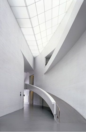 KIASMA MUSEUM OF CONTEMPORARY ART By Steven Holl  Helsinki, Finland, 1992-1998