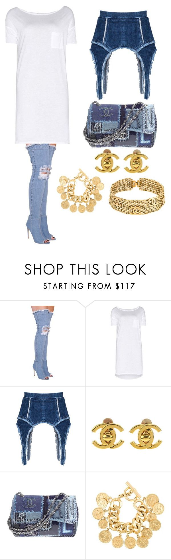 """Oops I did it again"" by walkeralexzandreia ❤ liked on Polyvore featuring T By Alexander Wang and Chanel"