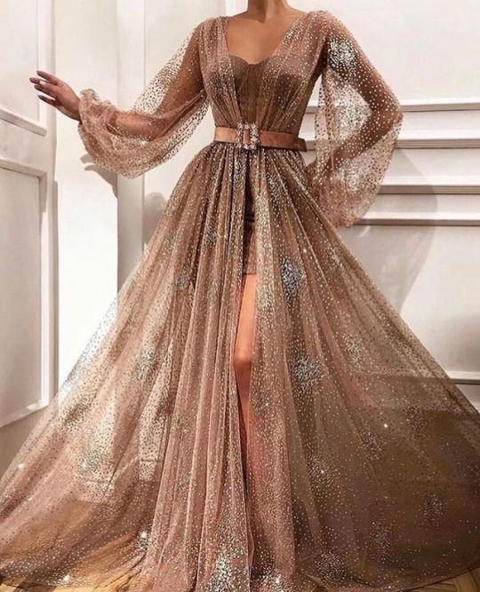 9) Tumblr | Prom dresses long with sleeves, Prom dresses