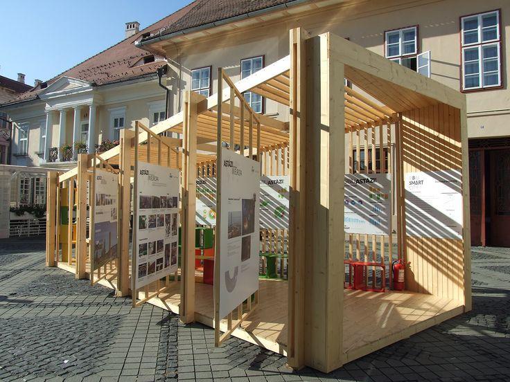 Location: The main square of Sibiu City, Romania Project team: Design: COOP pe Strada ( Erika Barth, Diana Galos, Judit Jozsa, Marius Micu ) / Consultant: Michael Engel  Project area: 20 sqm Project year: 2013 Developer: Heritas Foundation Other