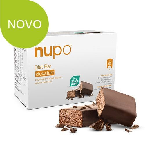 Nupo dijetalna pločica Čokolada/Naranča 360 g (9 porcija x 40 g) | Ljekarnik.hr