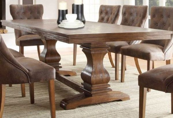 218 best dinning table images on pinterest for Dining table design images