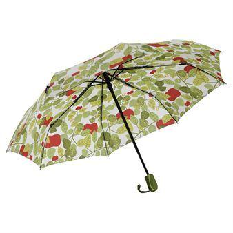 Den fine Apple-paraplyen kommer fra Almedahls og er designet av Victoria Möllgård. Paraplyen har et herlig mønster som er inspirert av epletrær og den er akkurat det du trenger når det regner. Kombiner paraplyen med andre fine deler fra Apple-serien.