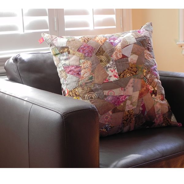 Each cushion is unique and handmade.