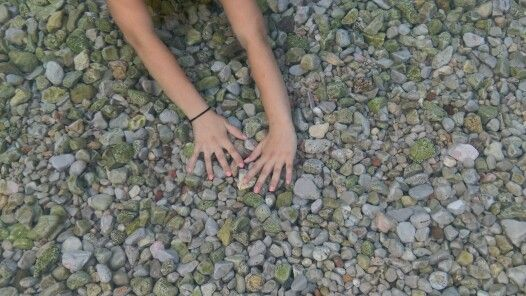My hands under water!!!!!!!!!!