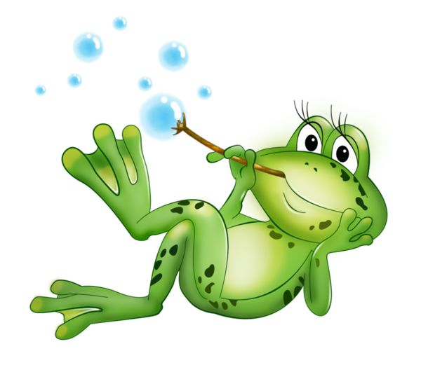 Cute Cartoon Draw Frog