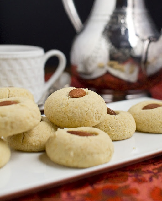 gluten free vegan almond cardamom cookies