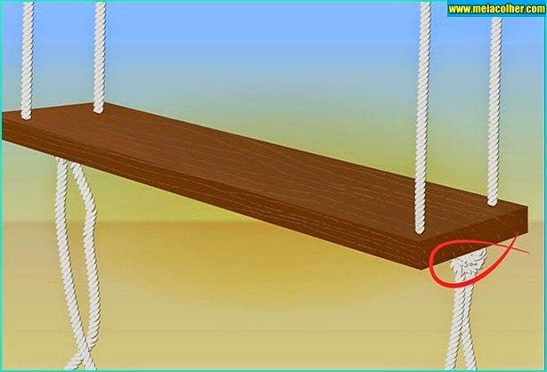 Aprenda como construir um balanço de madeira! | Meia Colher
