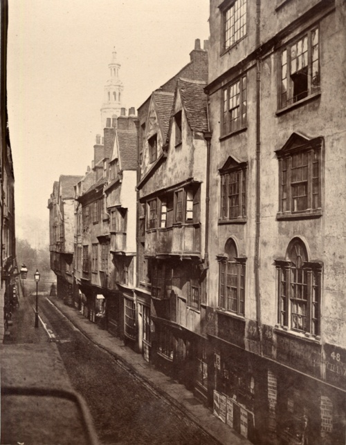 I'd love to just walk into this photo! It's Wych Street in London. I'm not sure when it was taken (the tumblr post I found it in didn't say) but it looks so interesting to walk down. Those buildings look so cool!