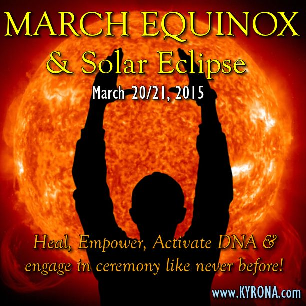 "EQUINOX/SOLAR ECLIPSE DOUBLE POWER PORTAL.....Sharing Wisdom/Light Language & Tools: ""At Equinox the doorways to other dimensions OPEN - providing YOU with the ability to powerfully connect to the celestial realms and celestial beings in ways that benefit YOU and our Earth that are simply magical!"" DISCOVER what Equinox is? Why it is so important to YOU right now? And How you can align with it? #MarchEquinox, #Equinox, #SolarEclipse"