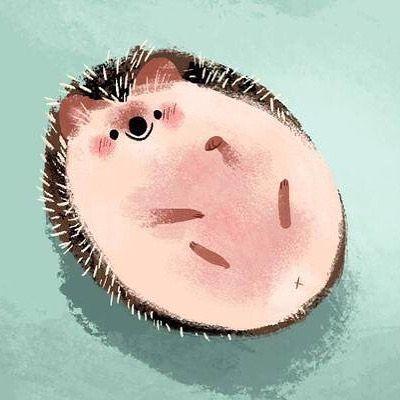 Such a cute hedgehog by @chopsticksroad #illustration #hedgehog