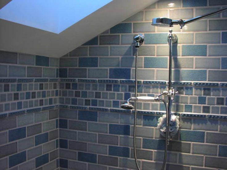 Shower Tile Designs For Bathrooms ~ http://lovelybuilding.com/black-and-white-tile-designs-for-bathroom-floors/