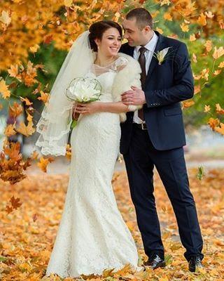 Наша невеста Ксения в платье LORA хит коллекции Lite by Dominiss 2015
