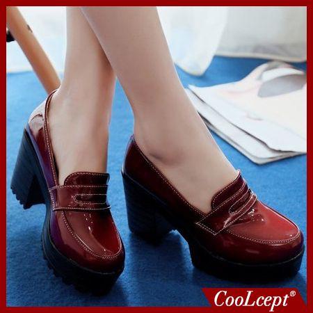 Женщины квадратные туфли на высоких каблуках качество случайные леди сексуальная мода весна каблуках обувь бренда насосы туфли на каблуках размер 34-39 P16273