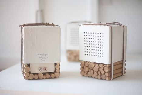 Speakers with holes
